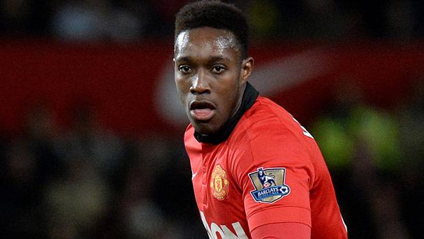 Danny Welbeck, pictured, is looking forward to working with Louis van Gaal