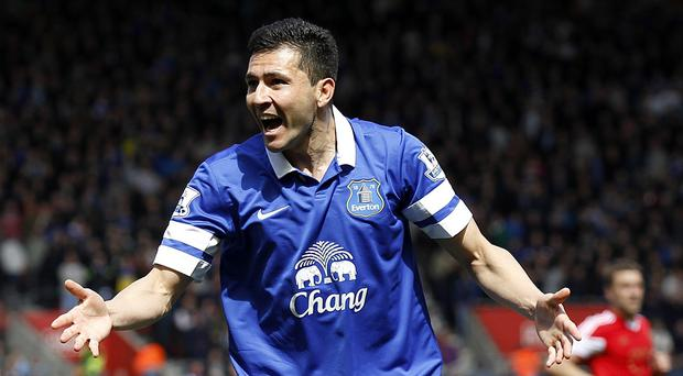 Antolin Alcaraz only managed seven appearances this season