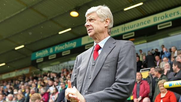 Arsene Wenger is eyeing new recruits after signing a new contract at Arsenal