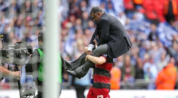 QPR chairman Tony Fernandes, top, is taking a new approach