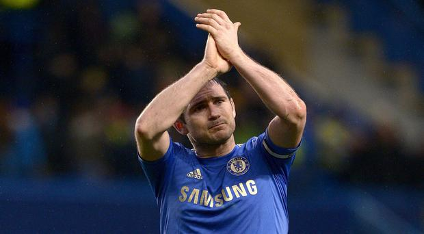 Frank Lampard is expected to join New York City this week