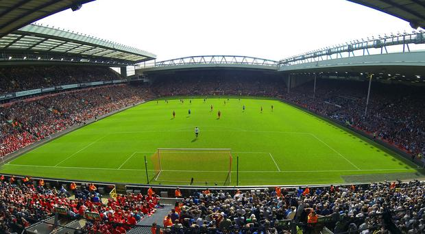 A general view of Anfield