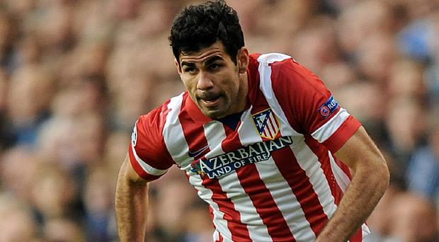 Diego Costa is close to completing a switch to Chelsea