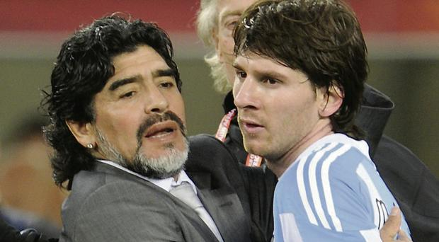 Lionel Messi couldn't inspire Argentina as Maradona did in '86