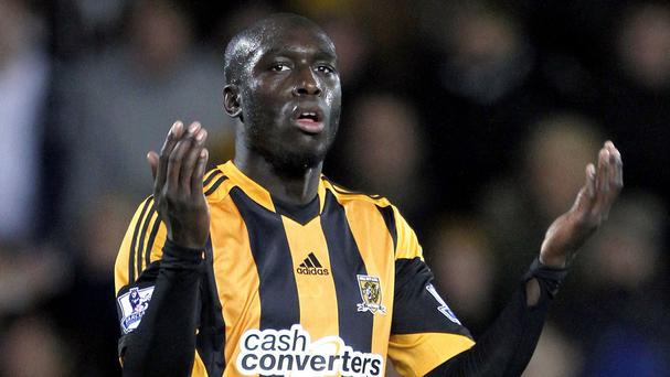 Yannick Sagbo will miss Hull's first two games