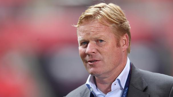 Ronald Koeman, pictured, has replaced Mauricio Pochettino as Southampton manager