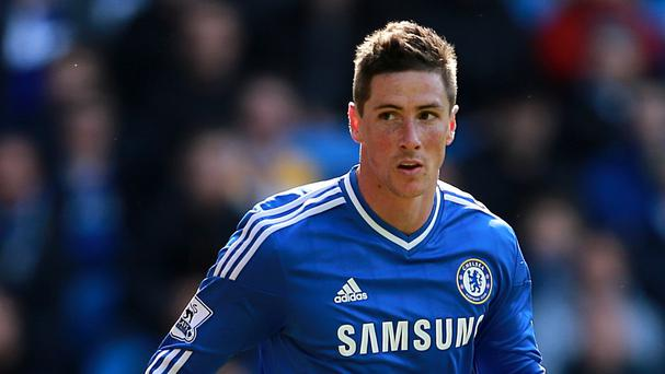 Fernando Torres, pictured, has welcomed new Chelsea arrival Cesc Fabregas to the club