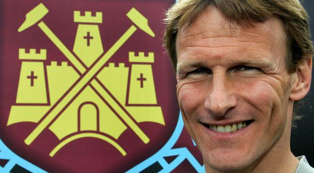 Former England striker Teddy Sheringham has returned to West Ham as an attacking coach
