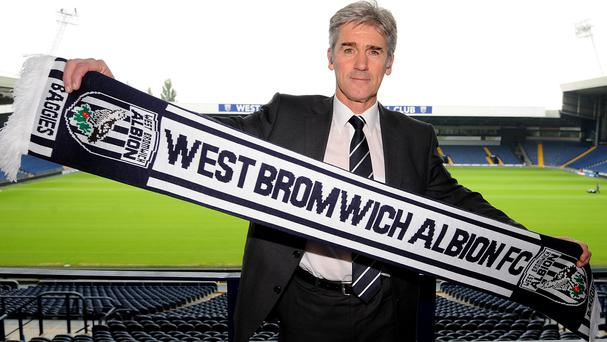 West Brom boss Alan Irvine, pictured, wants to sign Joleon Lescott