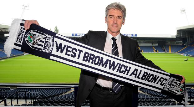 Alan Irvine, pictured, was appointed as West Brom coach on a 12-month rolling deal last weekend