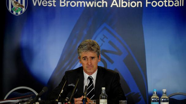 Alan Irvine was officially unveiled as the new West Brom head coach on Wednesday