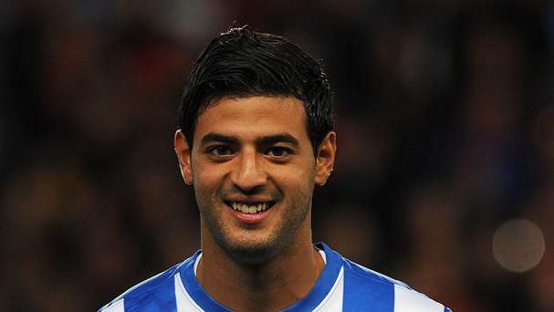 Carlos Vela will not be signing for Arsenal