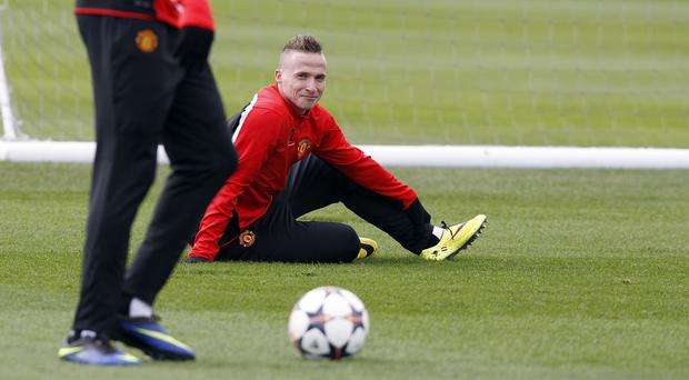 Alexander Buttner made only 28 appearances in his two seasons with Manchester United