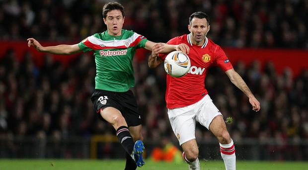Ander Herrera, left, has joined Manchester United from Athletic Bilbao