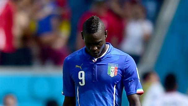 Italy's Mario Balotelli could be on the move this summer