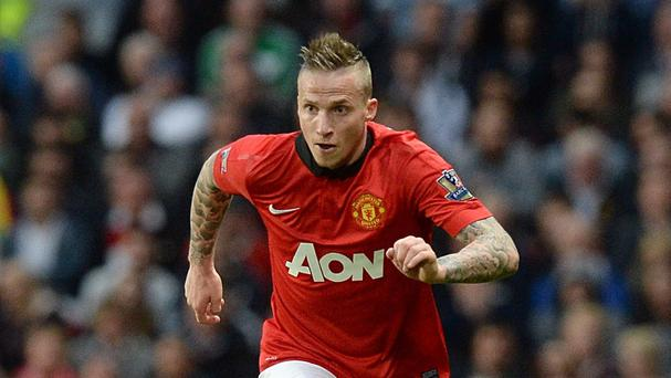Alexander Buttner has left Manchester United