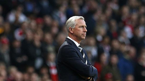 Alan Pardew is after bargains in the summer transfer market