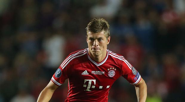Toni Kroos was heavily linked with Manchester United