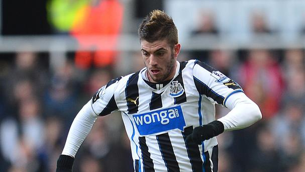 Newcastle are determined not to sell Mathieu Debuchy, pictured, on the cheap