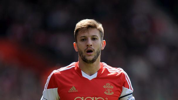 England midfielder Adam Lallana has joined Liverpool from Southampton