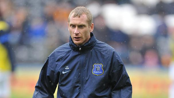 Tony Hibbert is hoping to play more games next season after agreeing terms on a new deal