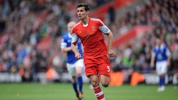 Southampton have rejected Liverpool's bid for Dejan Lovren