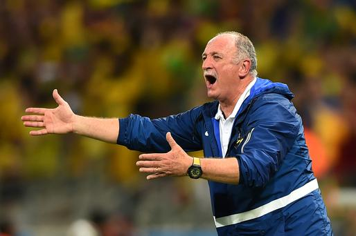 Phil Scolari has resigned as Brazilian manager