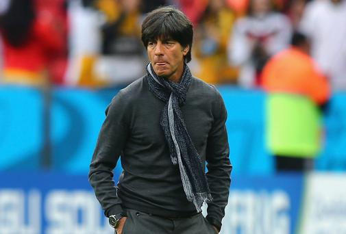 Joachim Low: Full of self-belief. Photo credit: Martin Rose/Getty Images