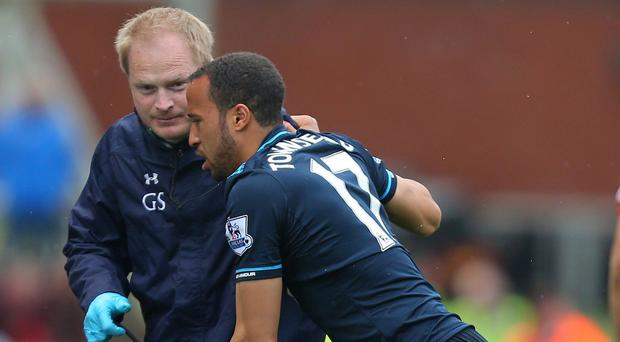 Injury ruled Andros Townsend out of the World Cup