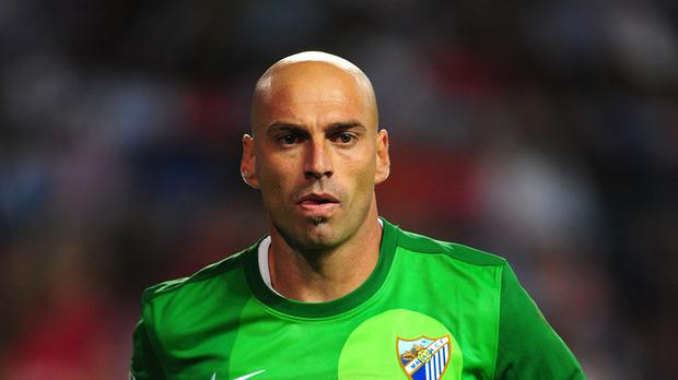 Willy Caballero has signed for Manchester City from Spanish side Malaga