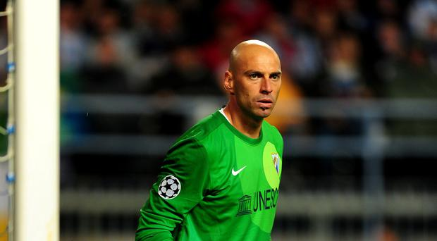 Goalkeeper Willy Caballero, pictured, will provide competition at City to Joe Hart