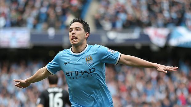 Samir Nasri, pictured, scored 11 goals under Manuel Pellegrini last season