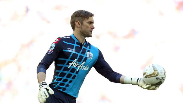 Rob Green featured in 48 games as the R's secured a top-flight return