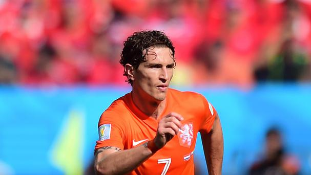 Daryl Janmaat is currently tied to Feyenoord in the Eredivisie