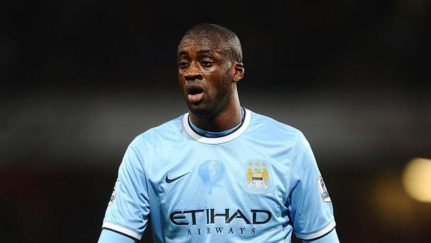 Yaya Toure scored 24 goals for Manchester City last season