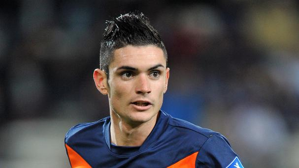 Remy Cabella has arrived in Newcastle with a view to completing a transfer from Montpellier