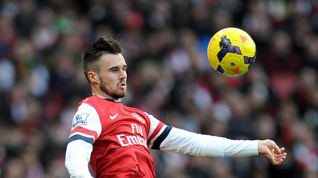 Arsenal man Carl Jenkinson, pictured, believes Alexis Sanchez is a 'fantastic addition'