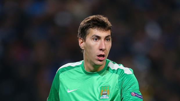 Costel Pantilimon left Manchester City for the Stadium of Light last month