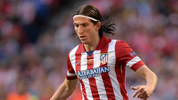 Filipe Luis made 98 appearances in all competitions for Atletico