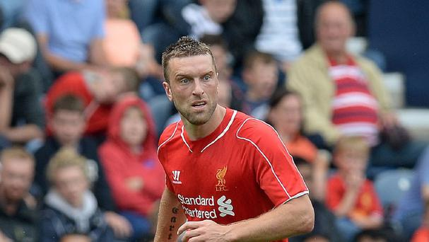 Rickie Lambert made his Liverpool debut at Preston