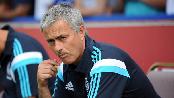 Jose Mourinho, pictured, took Mario Pasalic to Chelsea this summer but has allowed him to go out on loan