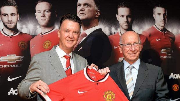 Manchester United manager Louis van Gaal is set to take charge of the club for the first time