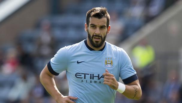 Alvaro Negredo has been sidelined by a broken metatarsal