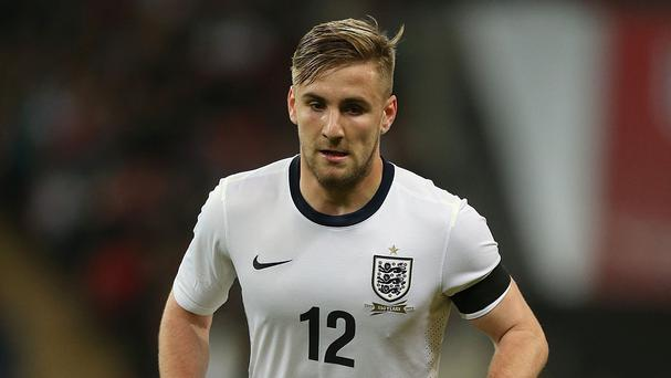 England defender Luke Shaw is confident of adjusting to life at Manchester United