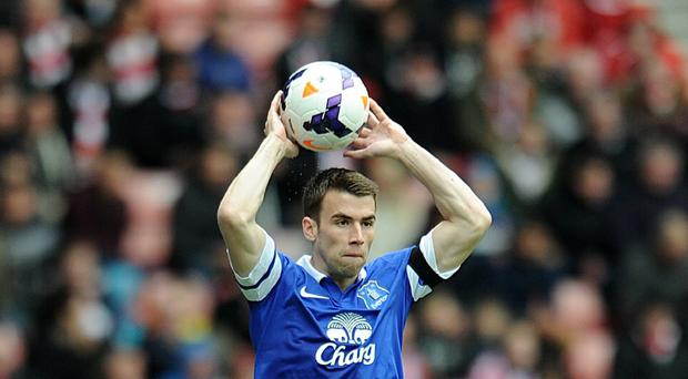Everton's Seamus Coleman has been the victim of online abuse