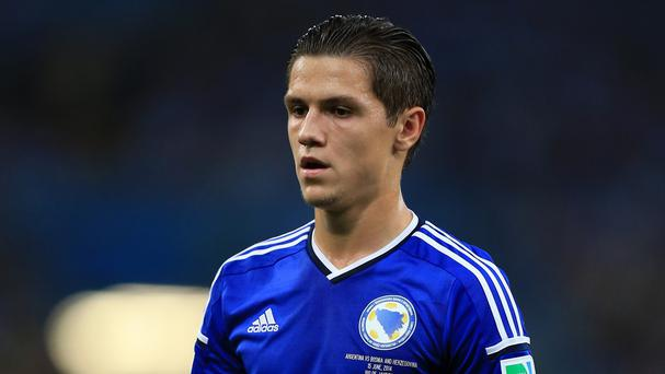 Muhamed Besic looks set to join Everton