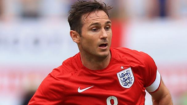 Frank Lampard has not yet decided whether he will continue playing for his country