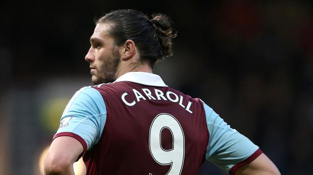 Andy Carroll's spell at West Ham has been plagued by injuries