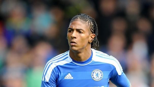 Patrick van Aanholt has made only eight appearances for Chelsea