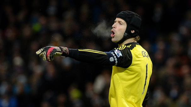Petr Cech has a fight on his hands to be Chelsea's number one this season